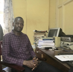 Dr. Paul Nyende; Associate professor of Community Psychology